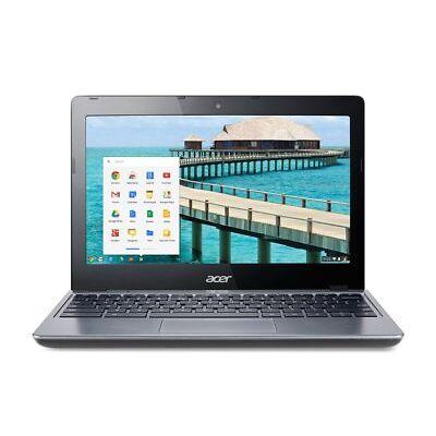 "Acer Chromebook C720-2103 11.6"" Intel Celeron 2955U 1.4GHz 2GB 16GB SSD Gray"