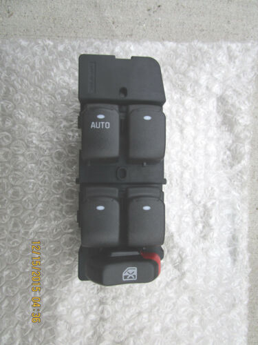 07-09 SATURN AURA XE XR HYBRID MASTER POWER WINDOW SWITCH NEW OEM P//N 15902664