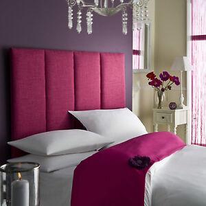 Tass High Headboard All Colours Bed All Sizes Linen Single