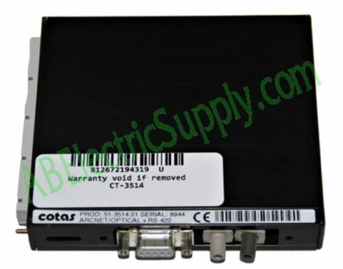 COTAS Optical Serial Port CT-3514 QTY