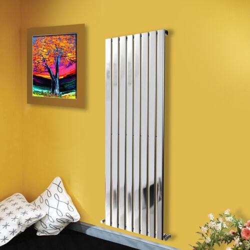 1600x544mm Vertical Flat Panel Radiator Designer Chrome Bathroom Rads