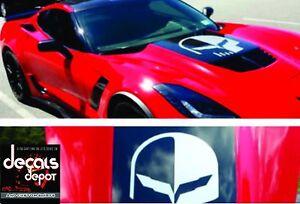 Chevy-Corvette-Hood-Decal-Vinyl-Sticker-Jake-Logo-C4-C5-C6-C7-ZO6-ZR1-Stingray