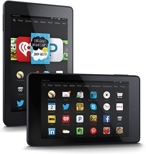 NEW ✔Amazon KINDLE FIRE 7 Inch Tablet Wi-Fi | 8GB | 2015 MODEL | BLACK