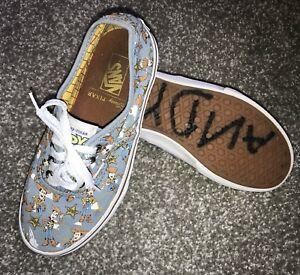 32a285f128842d Vans X Disney Pixar Authentic Kids Sneakers Shoes Sz 2 Toy Story ...