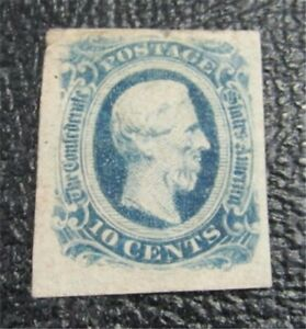 nystamps US CSA Confederate Stamp # 12 Mint OG H $20