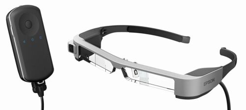 EPSON Smart Glass MOVERIO High-Definition BT-300 Smart Visual Glass Organic EL
