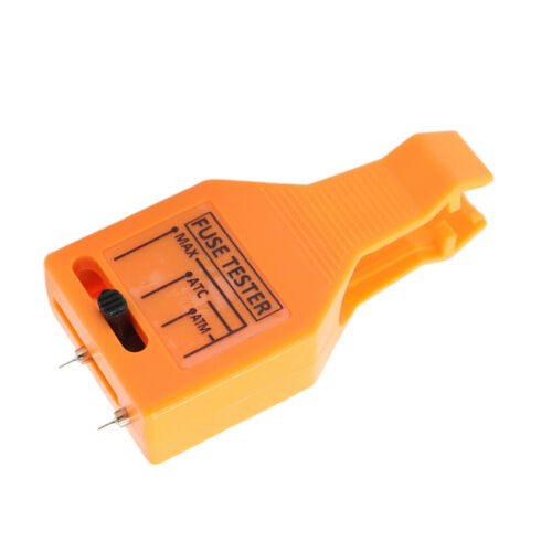 24V Car Part Auto Car Fuse Blade Type Tester Checker Puller Tool - Orange