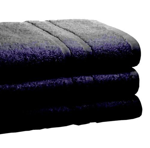 3 XLARGE Jumbo bain feuilles 100/% égyptien Coton Peigné grandes serviettes réduits