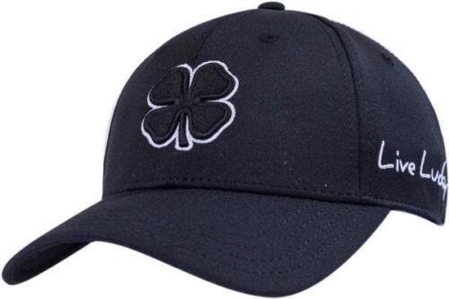 New 2018 Black Clover Premium #2 Black//White Fitted S//M Hat//Cap