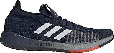 adidas Pulse Boost HD Mens Running Shoes Navy | eBay