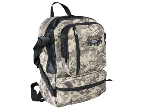 Dragon Street Fishing Backpack with replaceable bags 26 x 16 x 36 cm