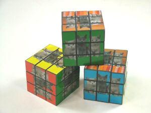 Fougueux Cube Magique Magic Cube Dés Chat Chats 6 Cm Drehwürfel Hirntraining-afficher Le Titre D'origine