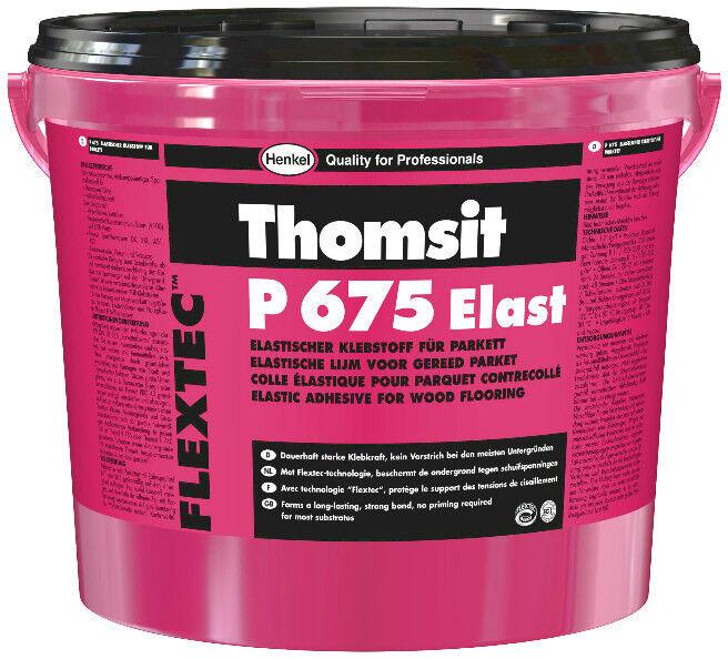 Thomsit P 675 Elast 18 kg -Sehr emissionsarmer, 1K Spezialklebstoff-