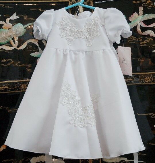 Pretty Weiß Dress  Designed For Baby Baby For Dolls  Stunning b2a4df