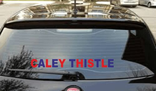 "8/"" To 16/"" Caley Thistle Vinyl Car Sticker//Decal FC Inverness Caledonian Thistle"