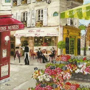 4x-Paper-Napkins-for-Decoupage-Decopatch-Craft-Rues-de-Paris