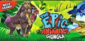 EPIC ANIMALS GIUNGLA SERIE COMPLETA 18 ANIMALI - EDIZIONE DIRAMIX 2021