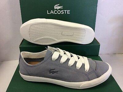 Lacoste Ziane Deck Women/'s Sneakers Plimsolls Lace up Size UK 4 EU 37