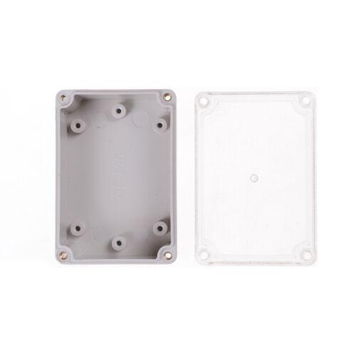 Wasserdichtes Klarsichtdeckel Elektronisches Kabel Projekt Box Gehäuse ABRSs$
