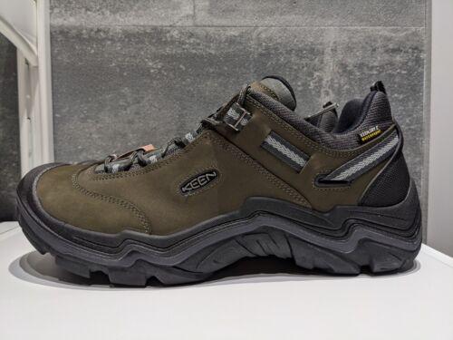 Keen Wanderer WP Low Rise Hiking Shoes Raven//Gargoyle UK12