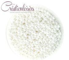 100 magnifiques Mixte Perles blanche nacré acrylique apx .. 4 mm +++++