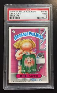 Trading Card Singles 1986 Garbage Pail Kids Card #169a Dee Faced Collectibles
