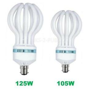 Image Is Loading SPIRAL CFL LIGHT BULB 105W 125W LAMP COOL