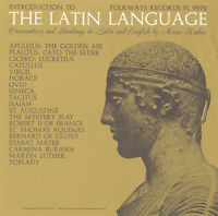 Moses Hadas - Latin Language: Introduction And Reading In Latin [new Cd] on Sale