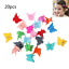 20PCS-Butterfly-Hair-Clips-Claw-Barrettes-Mixed-Color-Mini-Jaw-Clip-Hair-Clamps thumbnail 2