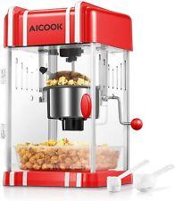 Popcorn Machine Hot Oil Retro Style 3 Ounce Popcorn Popper With Non Stick Kettle