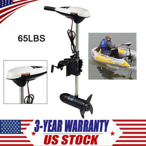 65LBS Thrust Electric Trolling Motor Outboard Engine for Fishing Boats