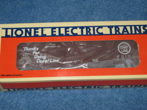 1994 Lionel 612046 TTOS Banquet ACL Dearborn Michigan Box Car L1015