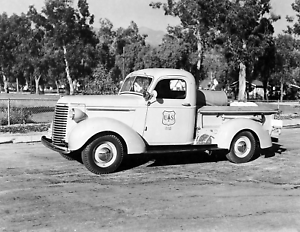 1939-US-Forest-Service-Tanker-Pickup-CA-Vintage-Old-Photo-8-5-034-x-11-034-Reprint