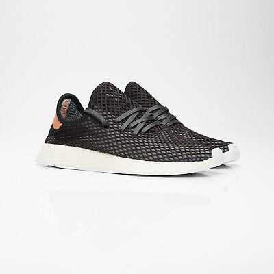 11768635306 Adidas Originals Deerupt Runner Black Ashpea Men Lifestyle Sneakers ...