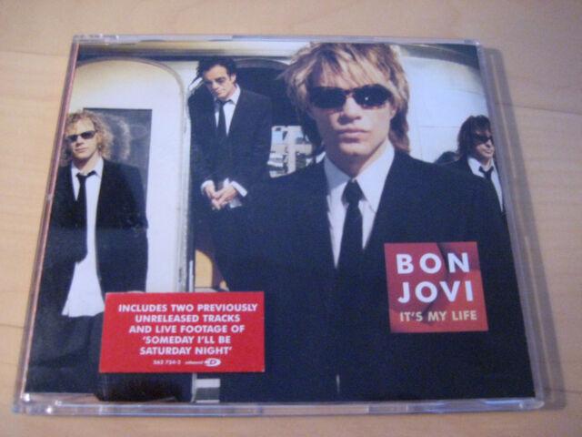 Bon Jovi - Maxi-CD - It`s my Life - 4 Tracks - Hush - Someday I`ll be Saturday