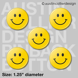 5-HAPPY-FACE-1-25-034-pinback-buttons-badges-smiley-smile-pins