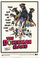 THE DOBERMAN GANG Movie POSTER 27x40 Byron Mabe Hal Reed Julie Parrish Simmy Bow