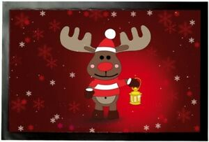 Rudolph Das Rentier Fußmatte Türmatte #92273 60x40cm Weihnachten