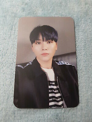 10 SEVENTEEN Special Album THANKS Wonwoo Type-A Photo Card Official K-POP