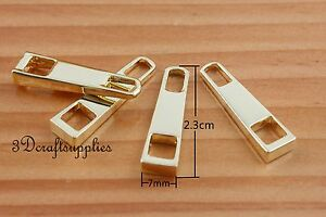 Clutch Latch Tongue Purse Lock Gold and Silver 5cm x 7cm