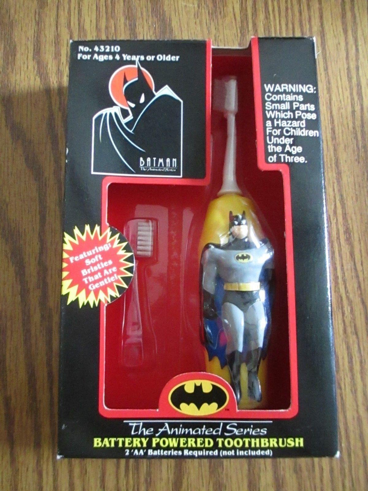 1993 Janex DC Comics Batman The Animated Serie Cepillo de dientes alimentado por batería