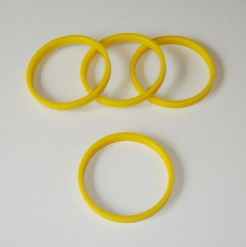 X4 centre spigot rings 72 tsw pour peugeot 206 207 307