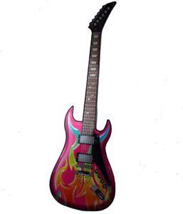 Elektronische-Rock-Gitarre-Kinder-Gitarre-Spielzeuggitarre-Kindergitarre-c