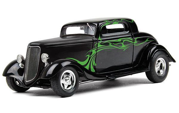 FIRST GEAR 1 25 SCALE 1934 FORD COUPE STREET ROD DIECAST MODEL   BN   40-0382