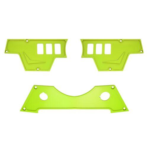 Polaris RZR Lime Dash Switch Panel Set for RZR 900 S 2015-2018