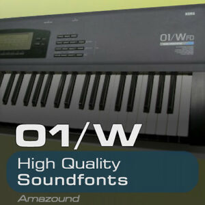 KORG 01W SOUNDFONT COLLECTION 200  sf2 FILES 3070 SAMPLES 2 3GB