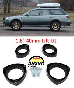 Subaru Outback Lift Kit >> Details About Lift Kit For Subaru Baja Legacy Outback Lancaster 98 03 1 6 40mm Strut Spacers