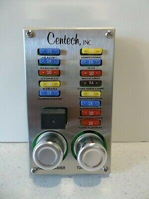 street rod fuse box under hood centech pdp 1b 13 circuit fuse panel hot rod street power  centech pdp 1b 13 circuit fuse panel