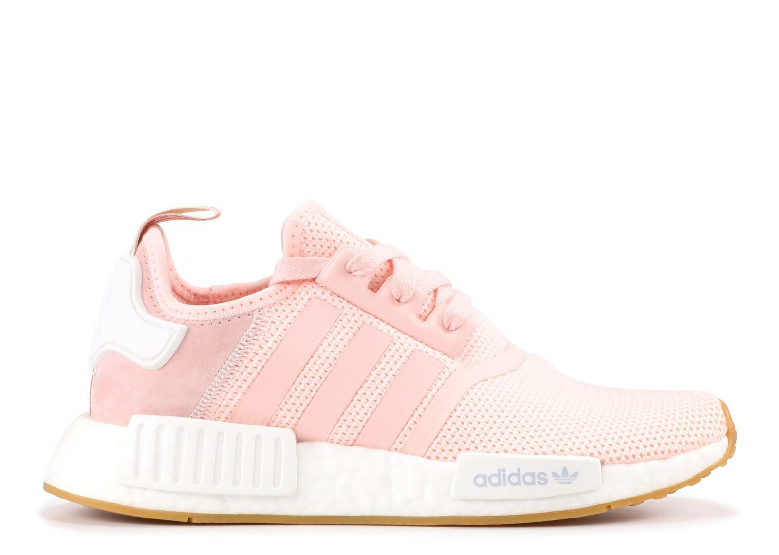 new concept c85dc 2b11f Womens ADIDAS NMD_R1 W Pink Running Trainers BB7588