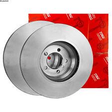 2x TRW DF6786 Bremsscheibe für RENAULT KADJAR HA HL Bremsscheiben